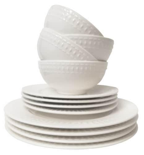 Tabletops Gallery Dinnerware Set - Bloom Perspective: front
