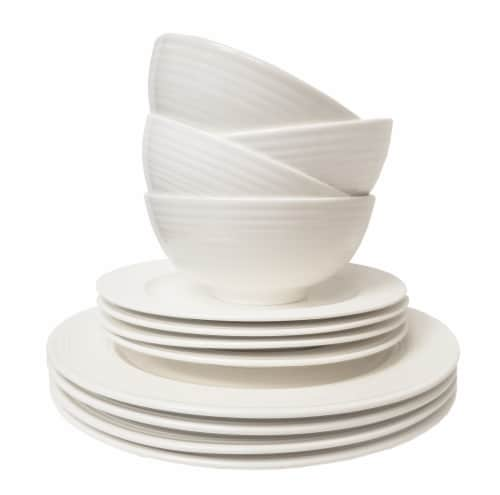 Tabletops Gallery Dinnerware Set - Contempo Perspective: front
