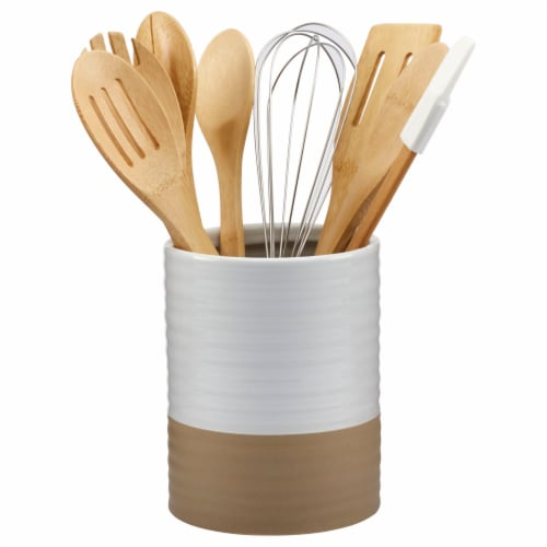 Tabletops Gallery 8 Pack Food Prep Utensils Perspective: front