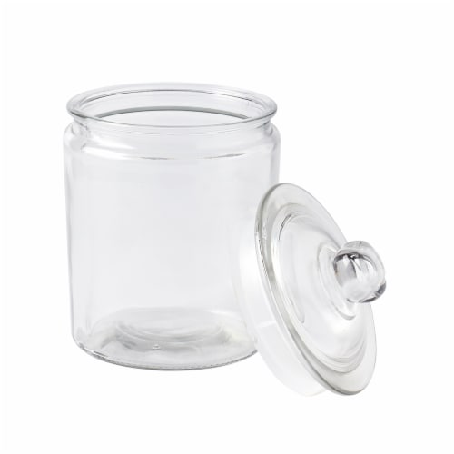 Tabletops Unlimited Glass Heritage Jar Perspective: front