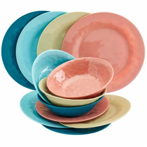 Tabletops Unlimited Summer Fun Melamine Dinnerware Set Perspective: front
