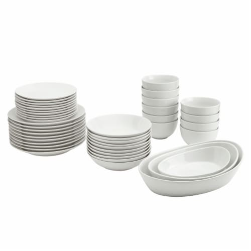 Tabletops Unlimited Catering Set - White Perspective: front