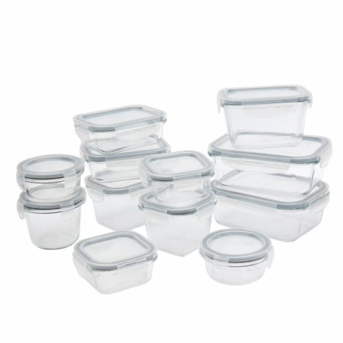 Tabletops Unlimited Glass Food Storage Set Perspective: front