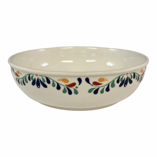 Tabletops Unlimited Mason Talavera Dinner Bowl Perspective: front