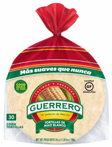 King Soopers Guerrero Corn Tortillas 30 Count 25 Oz