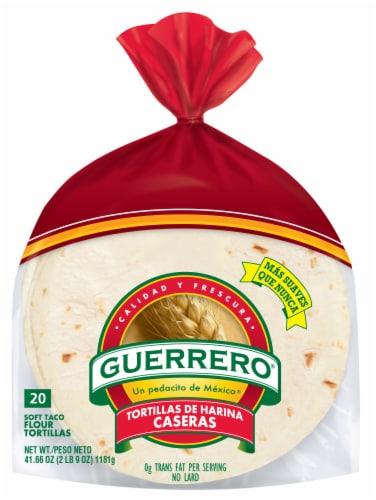 Guerrero Caseras Taco Tortillas Perspective: front