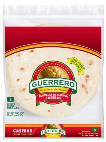 Guerrero Caseras Burrito Flour Tortillas 8 Count Perspective: front