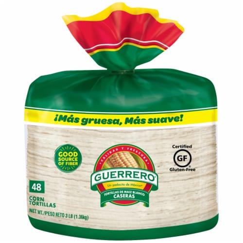 Guerrero White Corn Tortillas Perspective: front