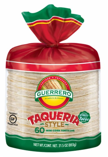 Guerrero Corn Tortillas Perspective: front