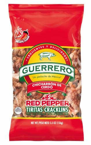 Guerrero Red Pepper Tiritas Cracklins Perspective: front