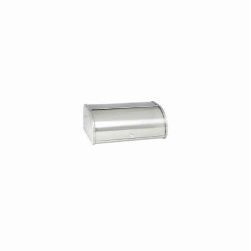 Anchor Hocking 98949 Brushed Steel Bread Box Perspective: front