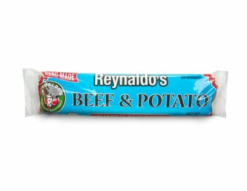 Reynaldo's Beef and Potato Frozen Burrito Perspective: front