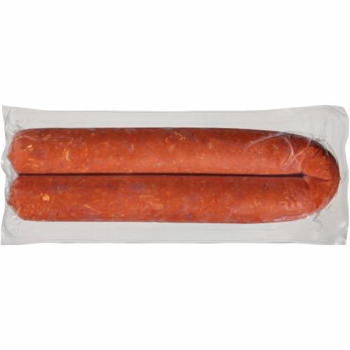 Reynaldo's Beef Chorizo Breakfast Sausage Perspective: front
