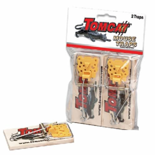 Tomcat 33507 Wooden Mouse Trap, Pack - 2 Perspective: front