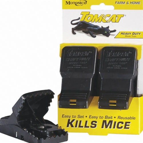 Tomcat Mouse Trap,2-1/2 In. L,5 In. W,PK2  33536 Perspective: front