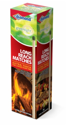 Diamond Greenlight Extra Thick Long Reach Matches Perspective: front