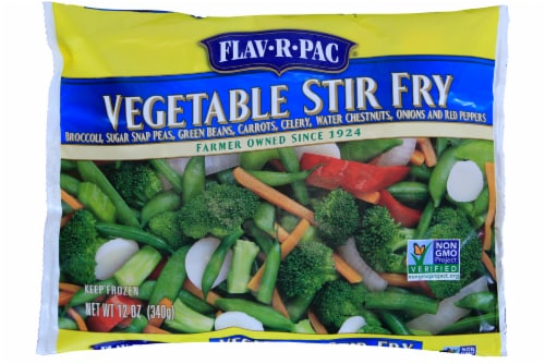 Flav-R-Pac Vegetable Stir Fry Perspective: front