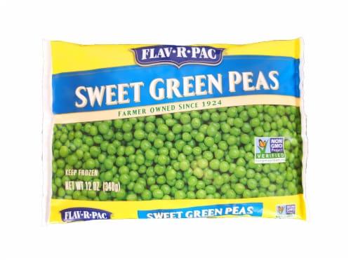 Flav-R-Pac Frozen Sweet Green Peas Perspective: front