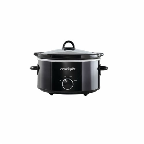 Crock-Pot® Manual Slow Cooker - Black Perspective: front