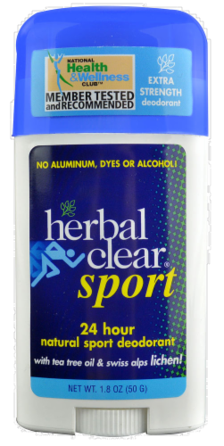 Herbal Clear Sport Deodorant Perspective: front