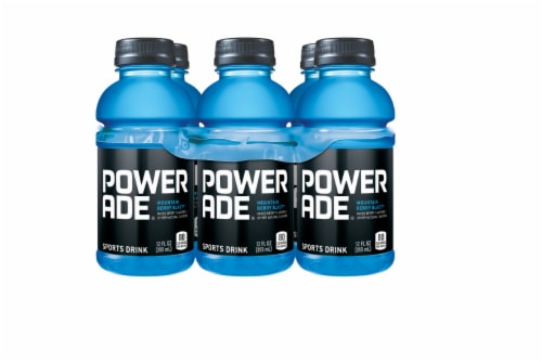 Powerade Mountain Berry Blast Flavored Sports Drink Perspective: front