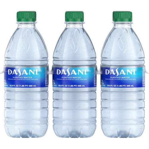 Dasani Purified Water Perspective: front