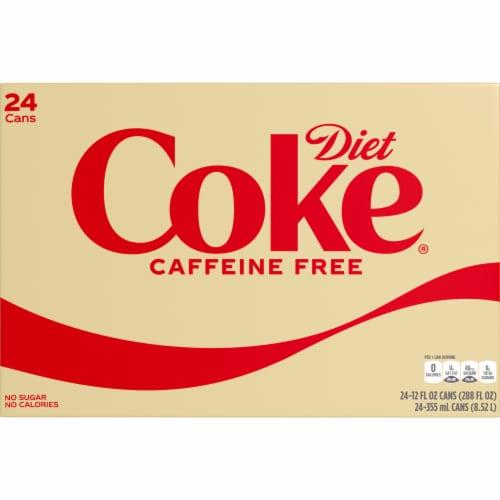 Diet Coke Caffeine-Free Soda Perspective: front