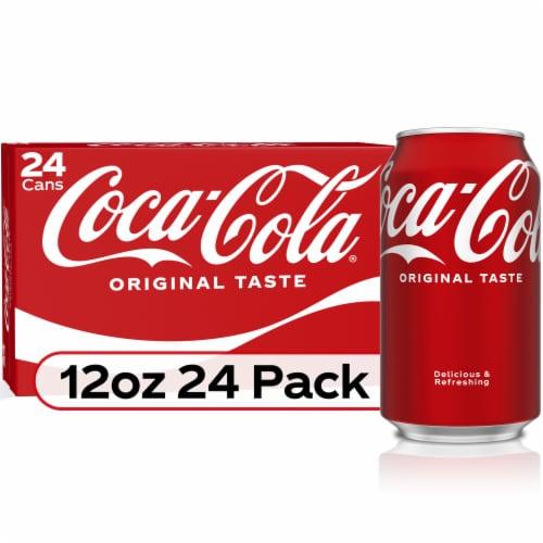 Coca-Cola Classic Soda Perspective: front