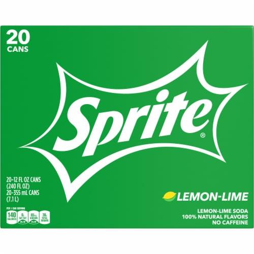 Sprite Lemon-Lime Soda Perspective: front