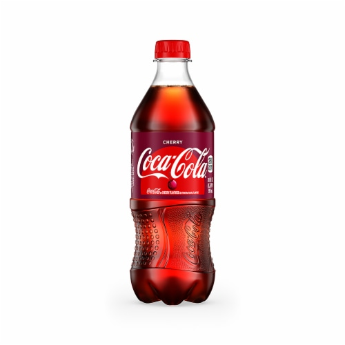 Coca-Cola Cherry Soda Perspective: front
