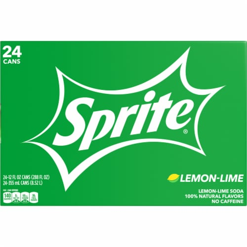 Sprite Lemon-Lime Soda Perspective: front