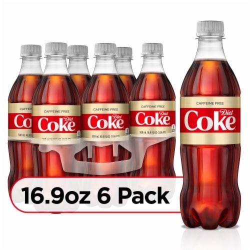 Diet Coke Caffeine Free Soda Perspective: front