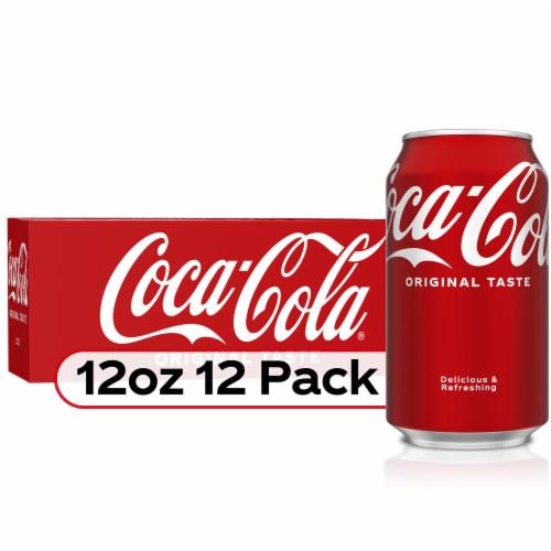 Coca-Cola Soda Perspective: front