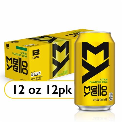 Mello Yello Citrus Flavored Soda Perspective: front
