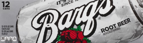 Barq's Root Beer Soda Perspective: front