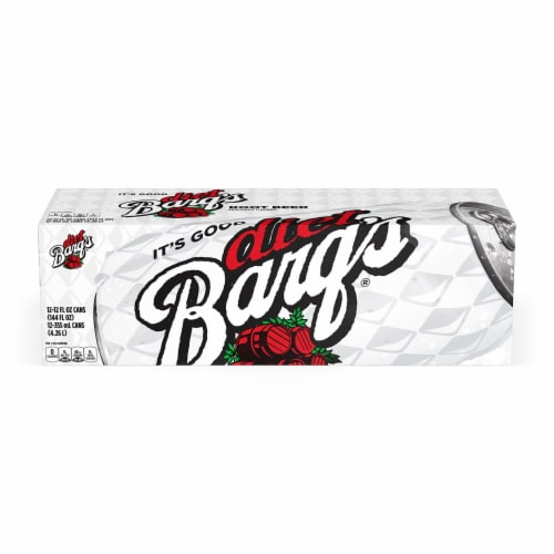 Barq's Diet Root Beer Soda Perspective: front