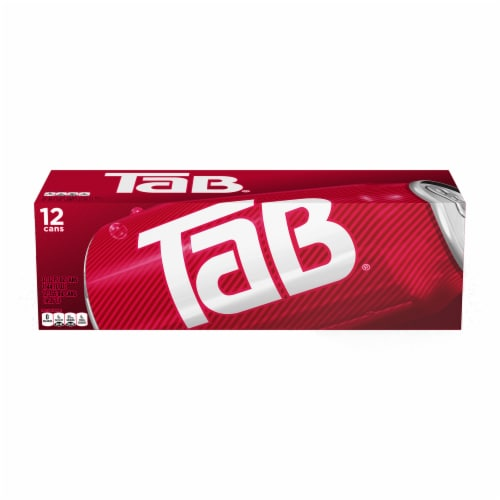 Tab Zero Calorie Soda Perspective: front