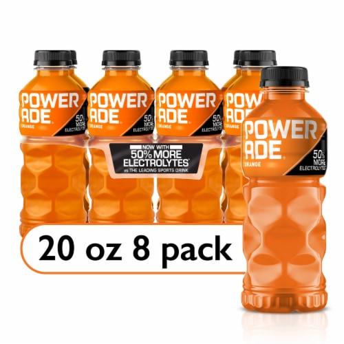Powerade Orange Sports Drink Perspective: front