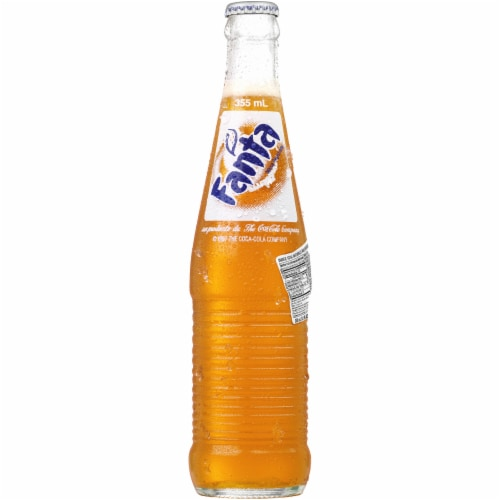 Fanta Mexican Orange Fruit Flavored Soda Perspective: front