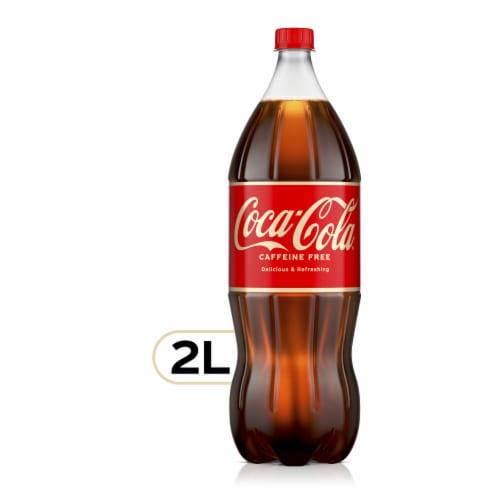 Coca-Cola Caffeine Free Soda Perspective: front
