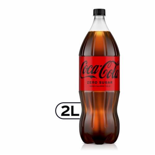 Coca-Cola® Zero Sugar Soda Perspective: front