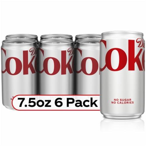 Diet Coke Soda Perspective: front