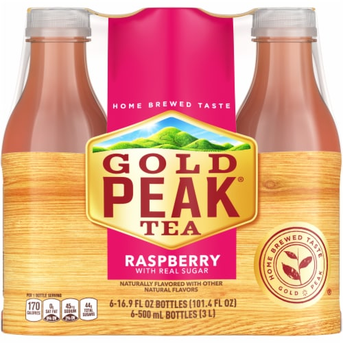 Gold Peak Raspberry Tea Perspective: front