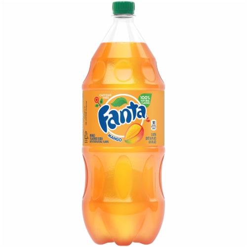 Fanta Mango Soda Perspective: front