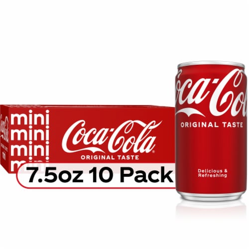 Coca-Cola Mini Soda Perspective: front