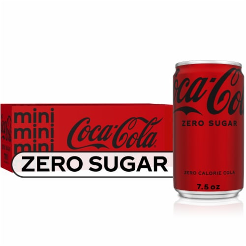 Coca-Cola Mini Zero Sugar Perspective: front