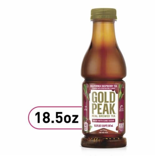 Gold Peak California Raspberry Tea Perspective: front