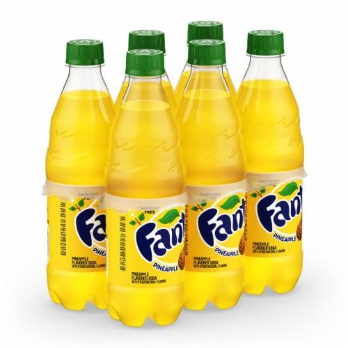 Fanta Pineapple Soda Perspective: front