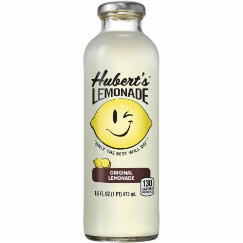 Hubert's Original Lemonade Perspective: front