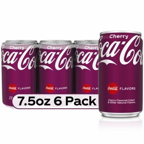 Coca-Cola Cherry Soda Perspective: front